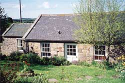 The Doll's House holiday cottage, nr Berwick, Northumberland, UK